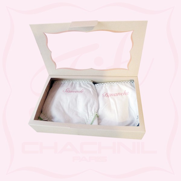 "FIFI CHACHNIL la boutique en ligne - ""One week-end cotton box"""