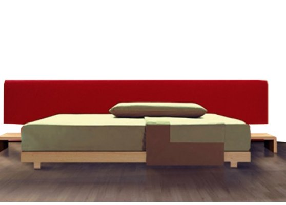 Model Zen Bed by Emilio Nanni for Zanotta, 1999 for sale at Pamono