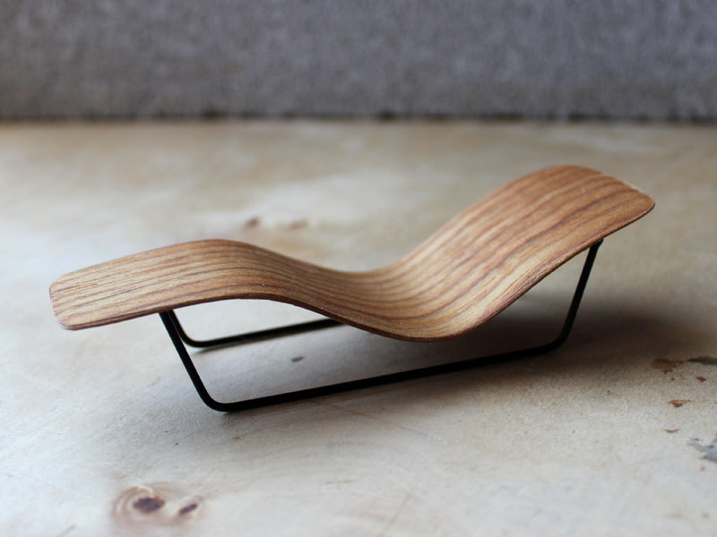 micro bent plywood chaise lounge by onefortythree on Etsy