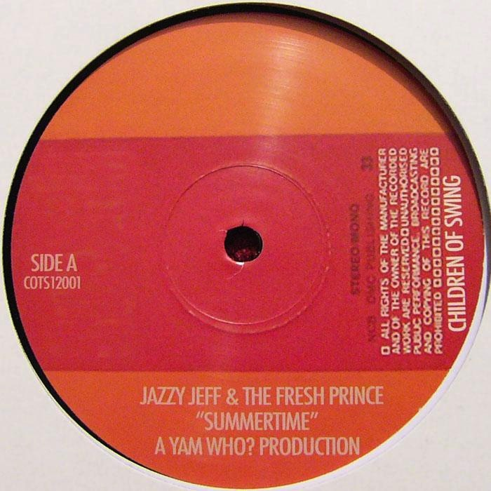 JAZZY JEFF & THE FRESH PRINCE(12) SUMMERTIME -YAM WHO? REMIX-