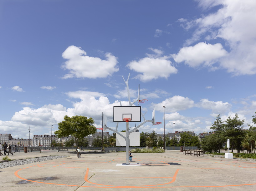 A/LTA architects: basket tree in nantes, france