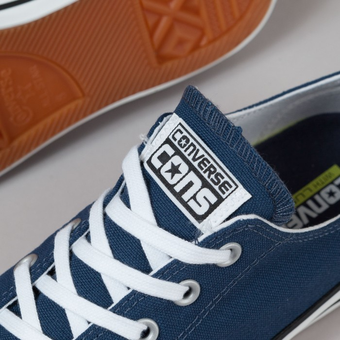 Converse CTAS Pro Ox Shoes - Navy / White / Black | Flatspot