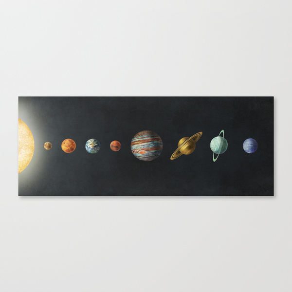 Solar System by Terry Fan - Society6 ソサエティシックス 専門店 / www.s6-japan.com