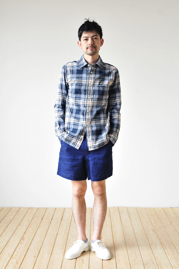 UNIVERSAL PRODUCTS / FRENCH LINEN SHORTS|ハルタ