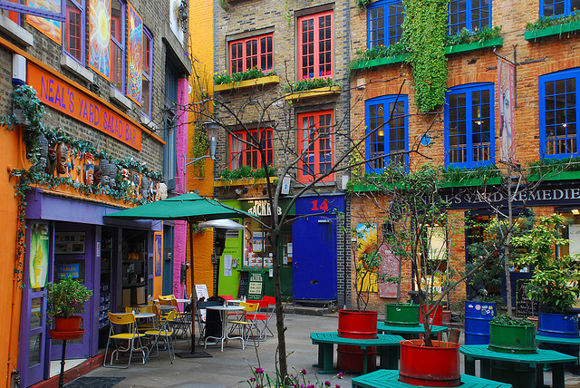 Neals Yard | Flickr - Photo Sharing!