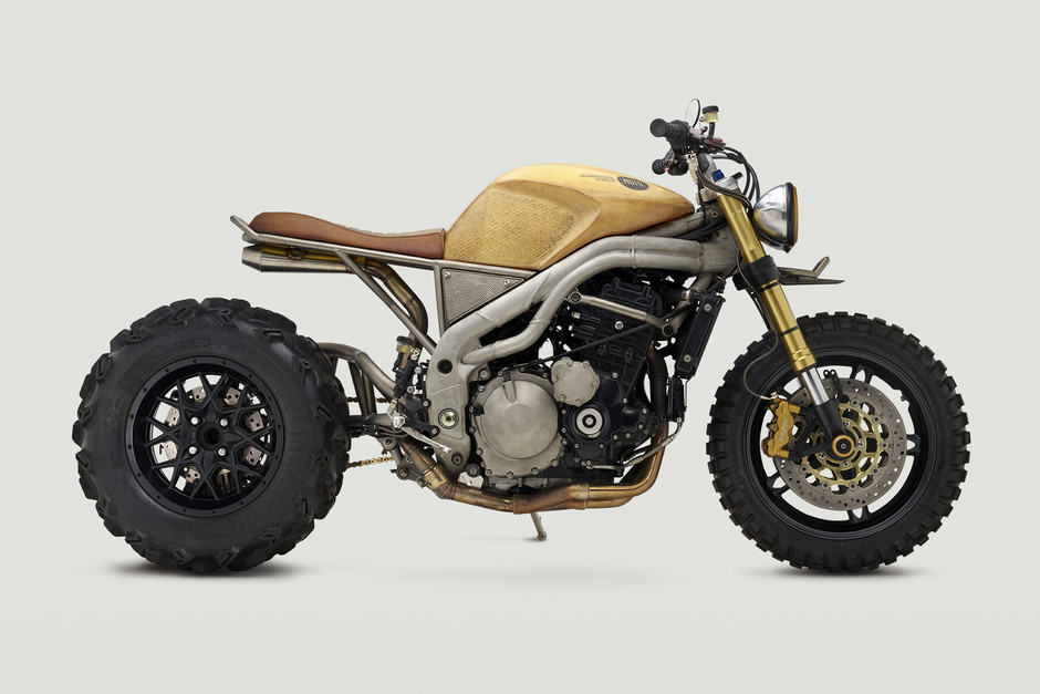 "Ottonero Cafe Racer: The biggest ""Thing"" / Classified moto"