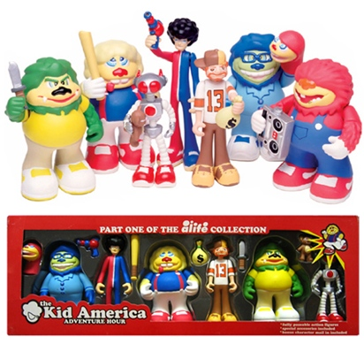 Kid America Aventure Hour Set, Artist: Alife, Manufacturer: Sony Creative Products // Rotocasted.com: For the love of toys!