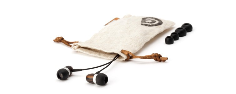 WoodTones earbuds - Griffin Technology