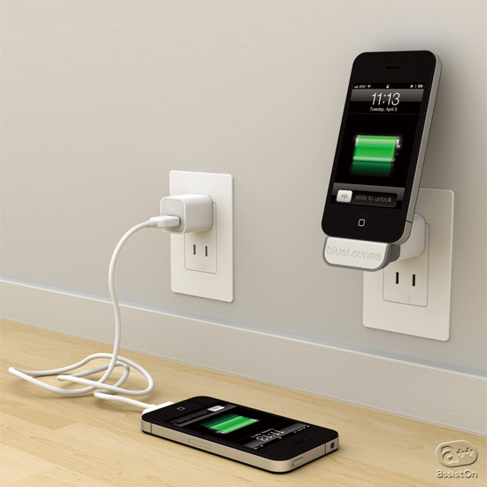 Bluelounge - MiniDock: An iPhone wall dock adapter
