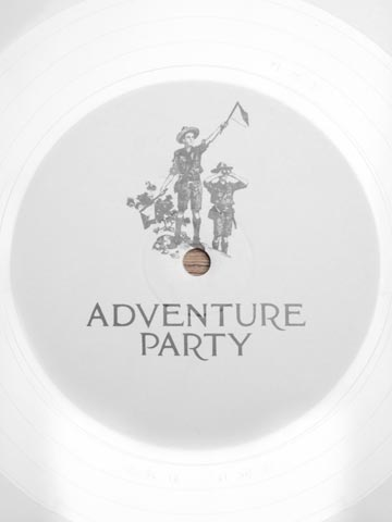 LN-CC | Adventure Party - Unreleased White 1 Side 12inch (International Feel Recordings)