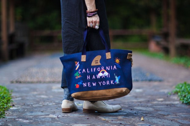 Palm Graphics x master-piece 2012 Spring/Summer Tote Bag | Hypebeast