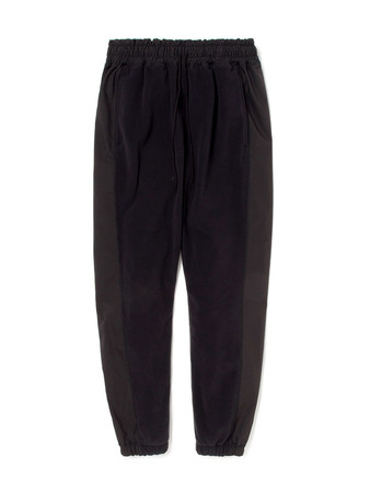 DWELLER EASY RIB PANTS POLY FLEECE POLARTEC® WITH POLY TWILL Pliantex®