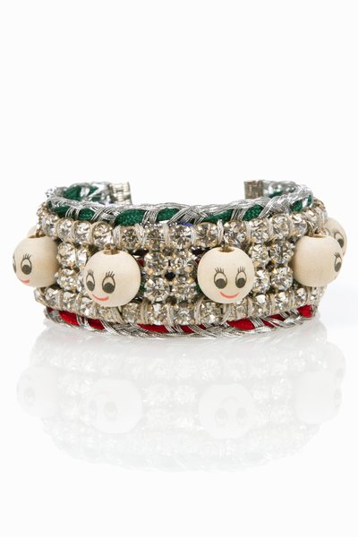 VENESSA ARIZAGA TALKING HEADS BRACELET - BR7040 - WOMEN - JEWELRY - OPENING CEREMONY