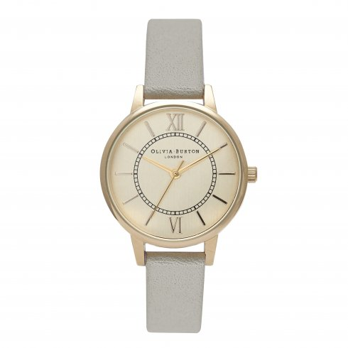 Olivia Burton Wonderland Grey and Gold OB15WD30