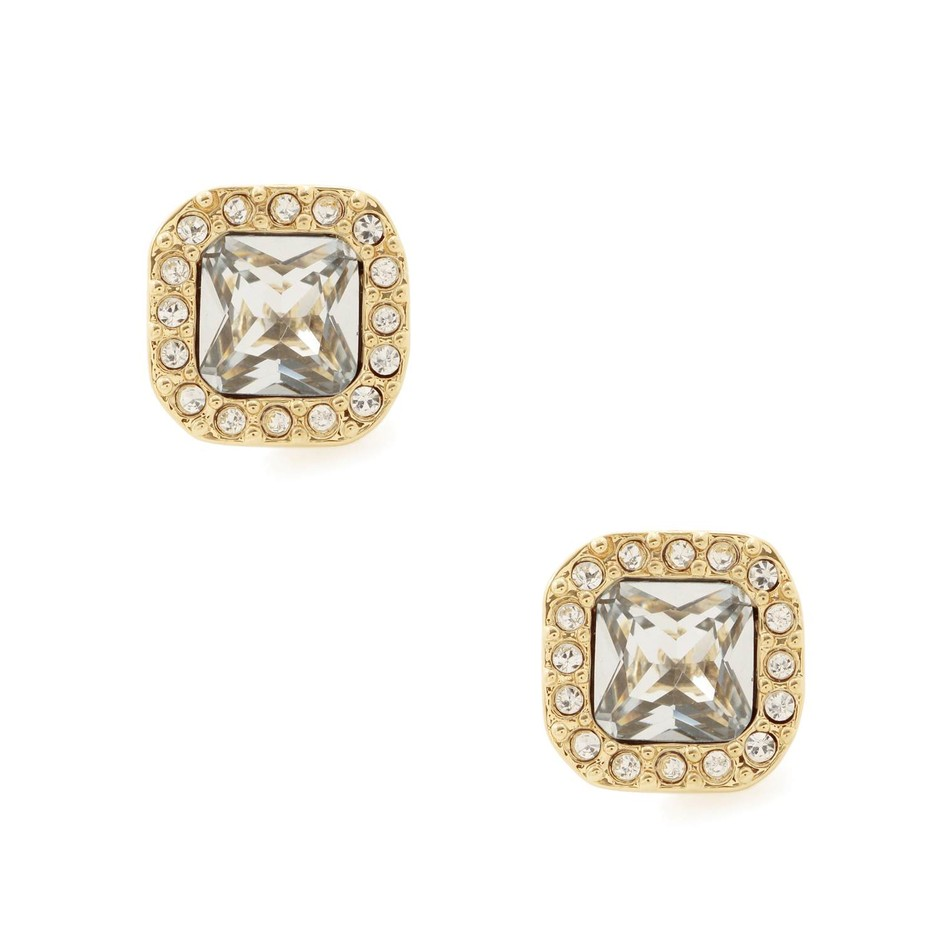 kate spade new york / kate spade earrings pave surround studs(ピアスタイプ)