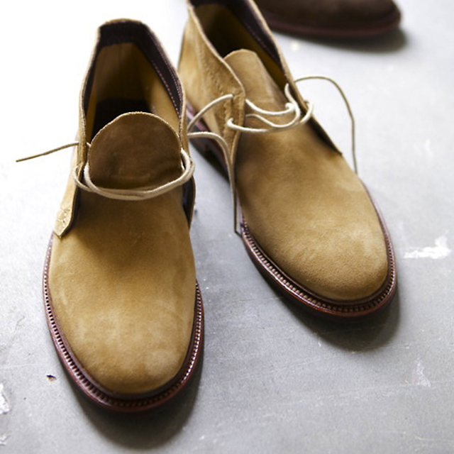 Fancy - Tan Suede Chukka Boot by Alden