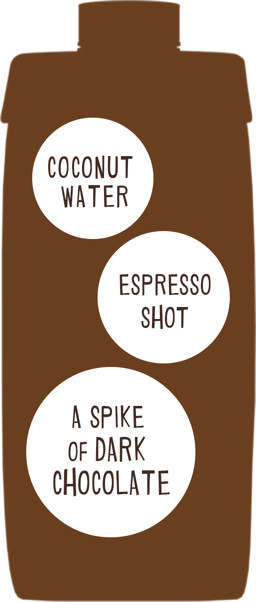 Espresso, milk, a touch of sweetness—it's hydration with a coffee kick   Vita Coco Coconut Water