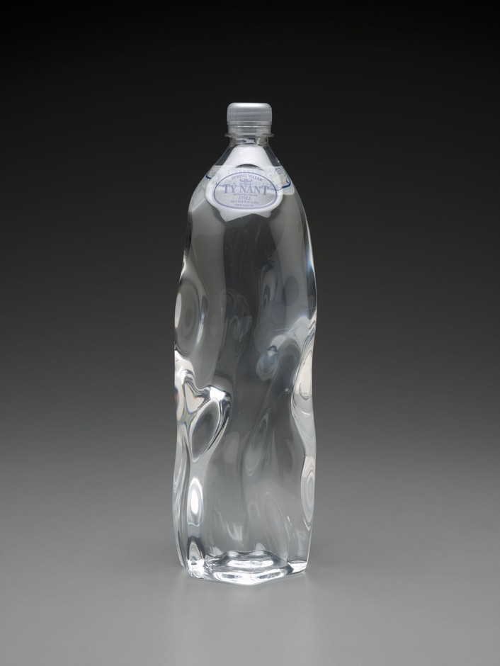 Ty Nant bottle   Indianapolis Museum of Art