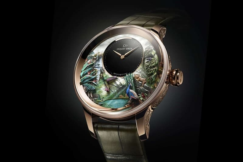 Elegance Redefined: The Jaquet Droz Tropical Bird Repeater Watch - Luxefeed Magazine