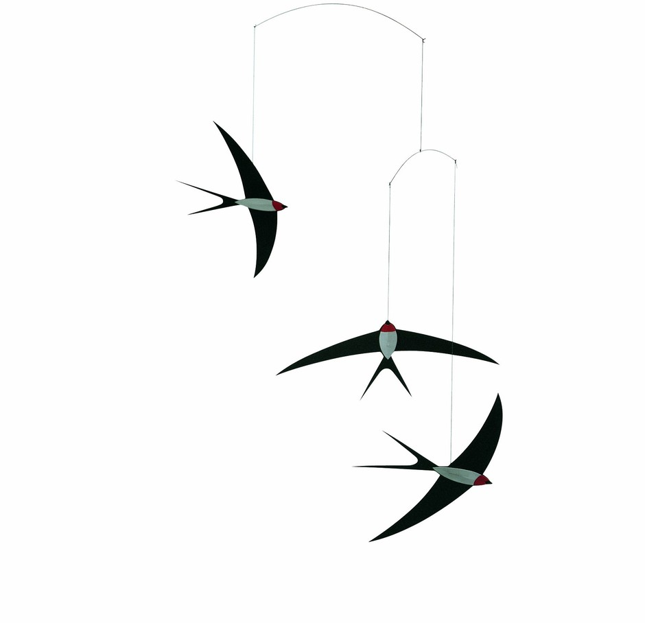 Amazon.com: Flensted Mobiles Nursery Mobiles, Swallow Mobile: Baby
