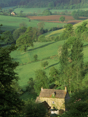 Cotswold Hills, England Photographic Print by Peter Adams at Art.com