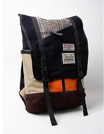 MASTER-PIECE HARRIS TWEED SLASH RUCKSACK ($200-500) - Svpply