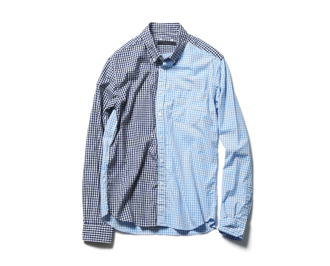 SOPHNET. | PRODUCT | 2 TONE PANEL B.D SHIRT