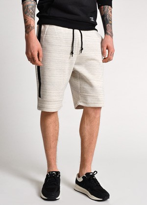 Nike Tech Super 1MM Jogger Shorts Oatmeal Heather / Soft Pearl | COUTIE