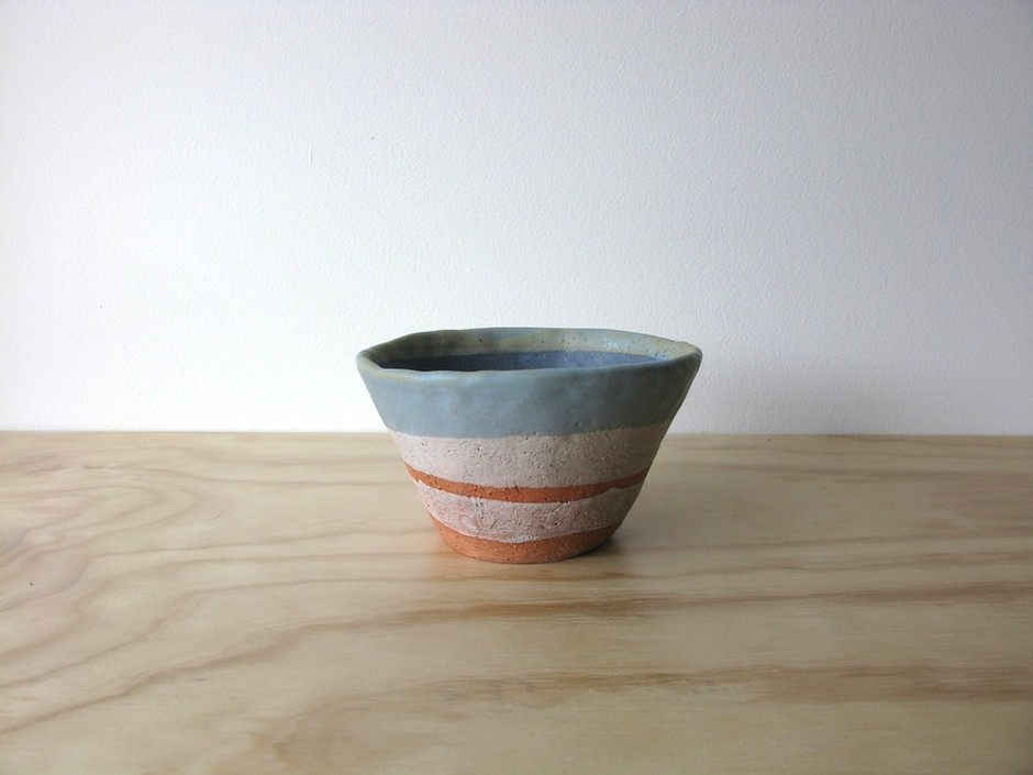 MR KITLY — Shino Takeda blue sky bowl