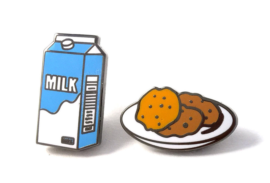 Milk & Cookies Pins – PINTRILL