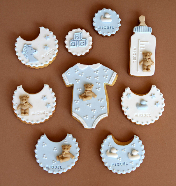 "Baptism ""Miguel"" Cookies 