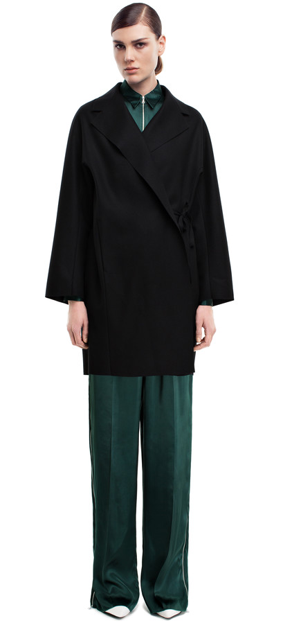 Acne Studios - Ember black - Coats & jackets - SHOP WOMAN - Shop Shop Ready to Wear, Accessories, Shoes and Denim for Men and Women