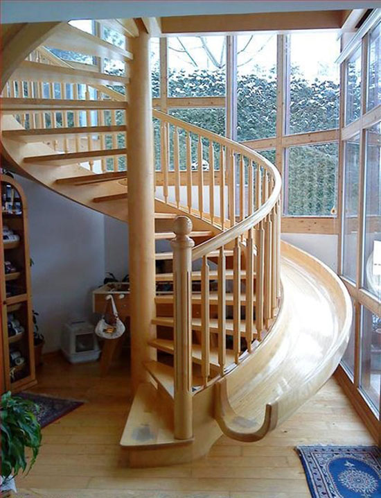 Mind Blowing Examples Of Creative Stairs - 50 Photos