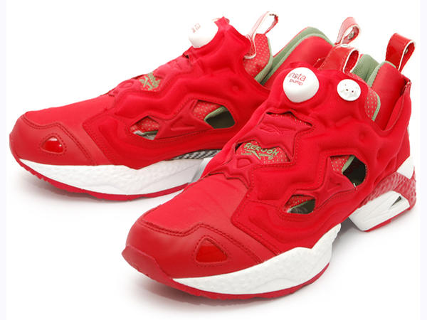 reebok pump red