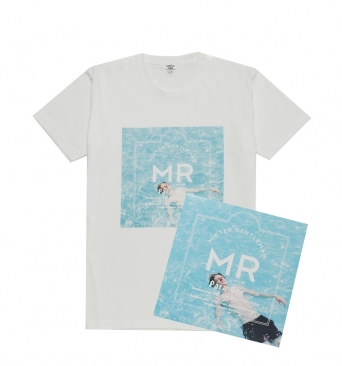 VINYL PRINT TEE<br /> (with MR.GENTLEMAN'S VINYL RECORD) - ONLINE SHOP│THE CONTEMPORARY FIX OFFICIAL SITE