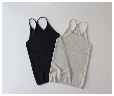 cotton cashmere camisole