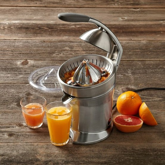 Amazon.com: Breville 800CPXL Die-Cast Stainless-Steel Motorized Citrus Press: Kitchen & Dining