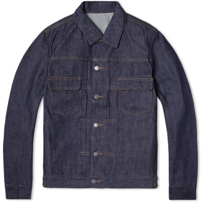 A.P.C. Raw Denim Jacket (Indigo)
