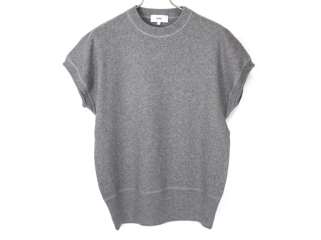 TIME AFTER TIME / [HYKE] CREW NECK NO-SLEEVE KNIT