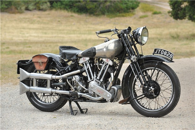 Quail Lodge will be packed with rare two-wheeled lots - The Last Brough Superior SS100 Produced Goes Under the Hammer - autoevolution