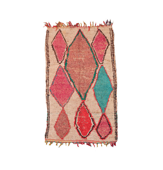 RESERVED FOR Victoria Moroccan Tribal Rug by bringyourownsunshine