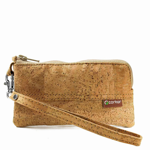 Cork Wristlet for iPhone 5 / 5S, 4 / 4S | Free Shipping | Corkor.com
