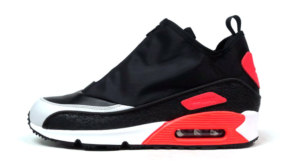 """AIR MAX 90 UTILITY """"LIMITED EDITION for NSW BEST"""" BLK/RED/GRY/WHT サイズで探す ビッグサイズ 29cm以上   ミタスニーカーズ ナイキ・ニューバランス スニーカー 通販"""