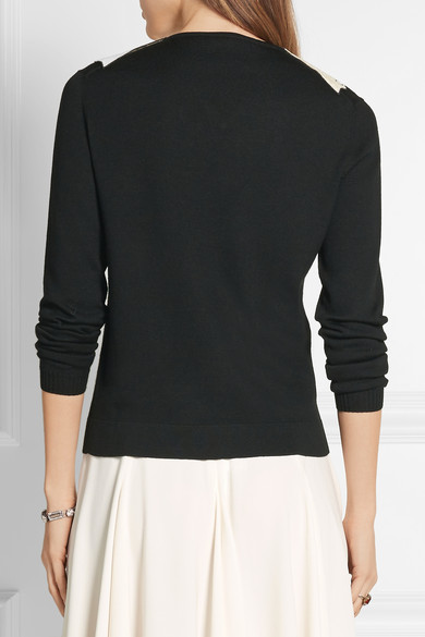 Gucci | Sequin-embellished wool sweater | NET-A-PORTER.COM