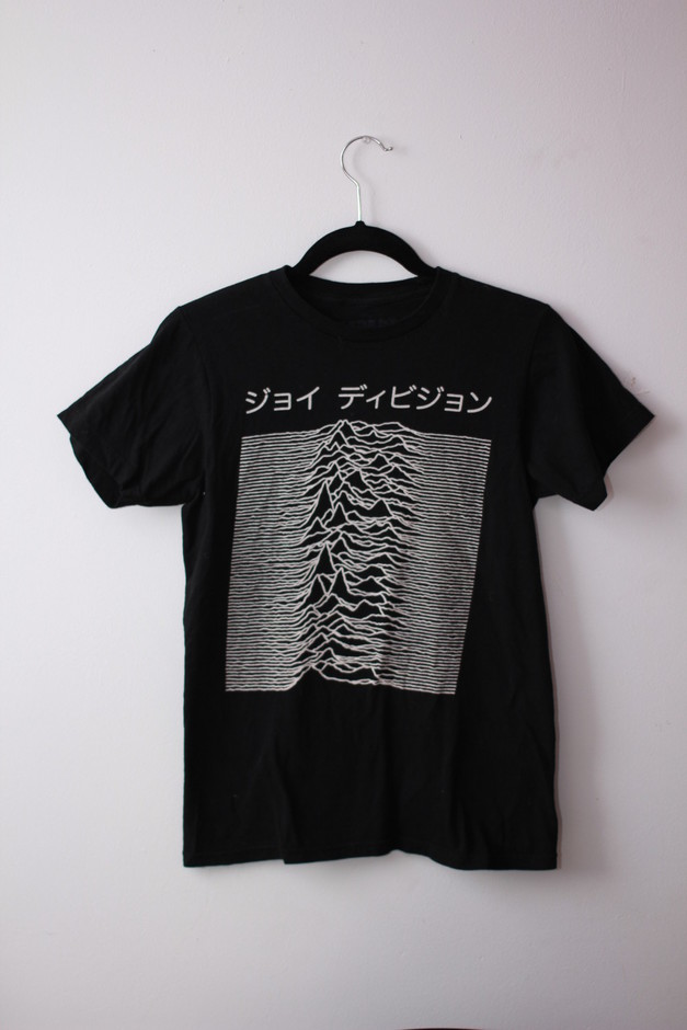 "Joy Division Japanese ""Unkown Pleasures"" Tee - Urban Outfitters on Storenvy"