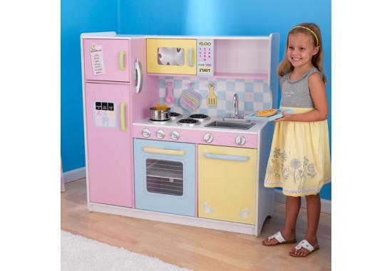 Large Pastel Kitchen - KidKraft