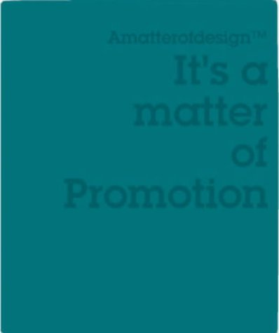 Amazon.co.jp: It's a Matter of Promotion (Matter of Design): Victionary: 洋書