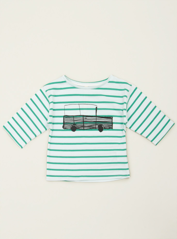 Couverture and The Garbstore » Jeep stripey tee