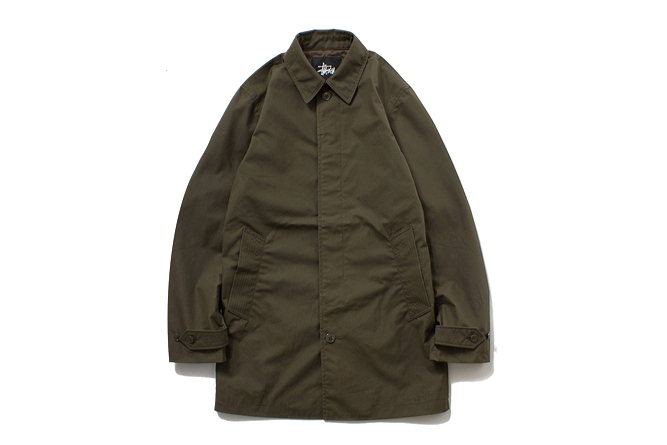 Stussy x The British Millerain Co. 2013 Fall/Winter Waxed Soutien Coller Coat | Hypebeast