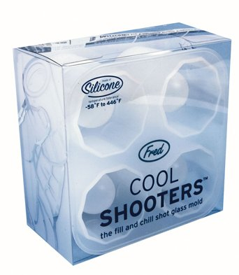 Amazon.com: Fred Cool Shooters Shot Glass Mold: Kitchen & Dining